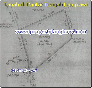 pantai tengah langkawi land for sale